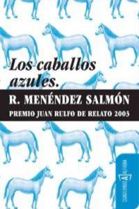 CABALLOS AZULES,LOS: portada