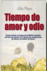 TIEMPO DE AMOR Y ODIO: portada