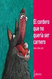 CORDERO QUE NO QUERIA SER CARNERO,EL: portada