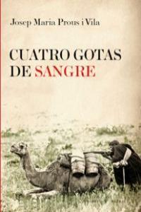 CUATRO GOTAS DE SANGRE: portada