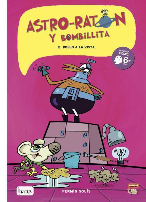ASTRO-RATóN Y BOMBILLITA 2: portada