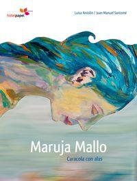 Maruja Mallo. Caracola con alas: portada