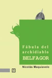 Fábula del archidiablo Belfagor: portada