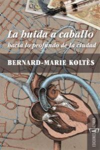 HUIDA A CABALLO,LA: portada