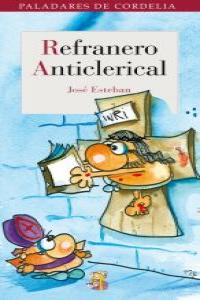REFRANERO ANTICLERICAL: portada
