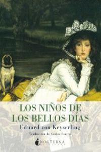 NIÑOS DE LOS BELLOS DIAS,LOS: portada