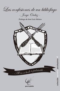 CONFESIONES DE UN BIBLIÓFAGO, LAS: portada