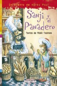 SANJI Y EL PANADERO: portada