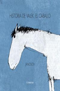 Historia de Valek, el caballo: portada