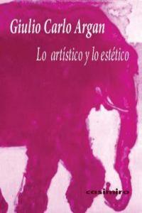 LO ARTISTICO Y LO ESTETICO: portada