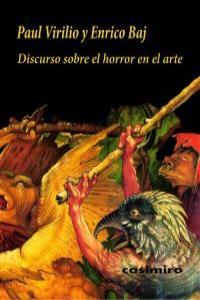 DISCURSO SOBRE EL HORROR EN EL ARTE: portada