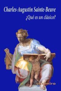 ¿Qué es un clásico?: portada
