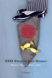 XXXI Premios José Hierro: portada