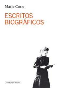 Escritos biográficos: portada