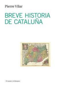 Breve historia de Cataluña: portada