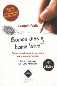 BUENOS DIAS Y BUENA LETRA 5�ED: portada