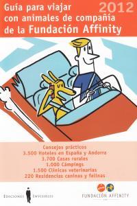 GUIA PARA VIAJAR CON ANIMALES DE COMPAÑIA 2012: portada
