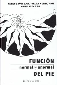 FUNCIÓN NORMAL Y ANORMAL DEL PIE: portada