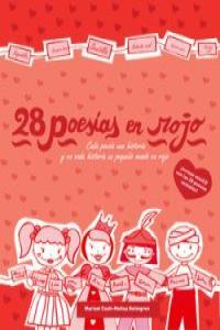 28 poesías en rojo: portada