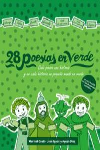 28 poesías en verde: portada
