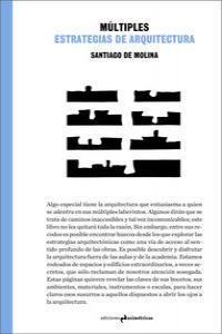 MÚLTIPLES ESTRATEGIAS DE ARQUITECTURA: portada
