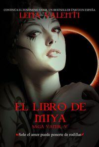 LIBRO DE MIYA,EL V: portada