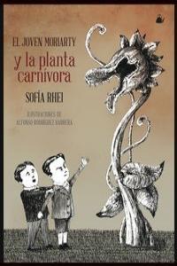 El joven Moriarty y la planta carnívora: portada