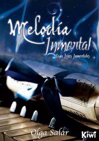 MELODÍA INMORTAL (SAGA LAZOS INMORTALES 1): portada