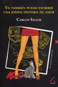 Yo también puedo escribir una jodida historia de amor (2ª ed: portada