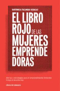 El libro rojo de las mujeres emprendedoras: portada