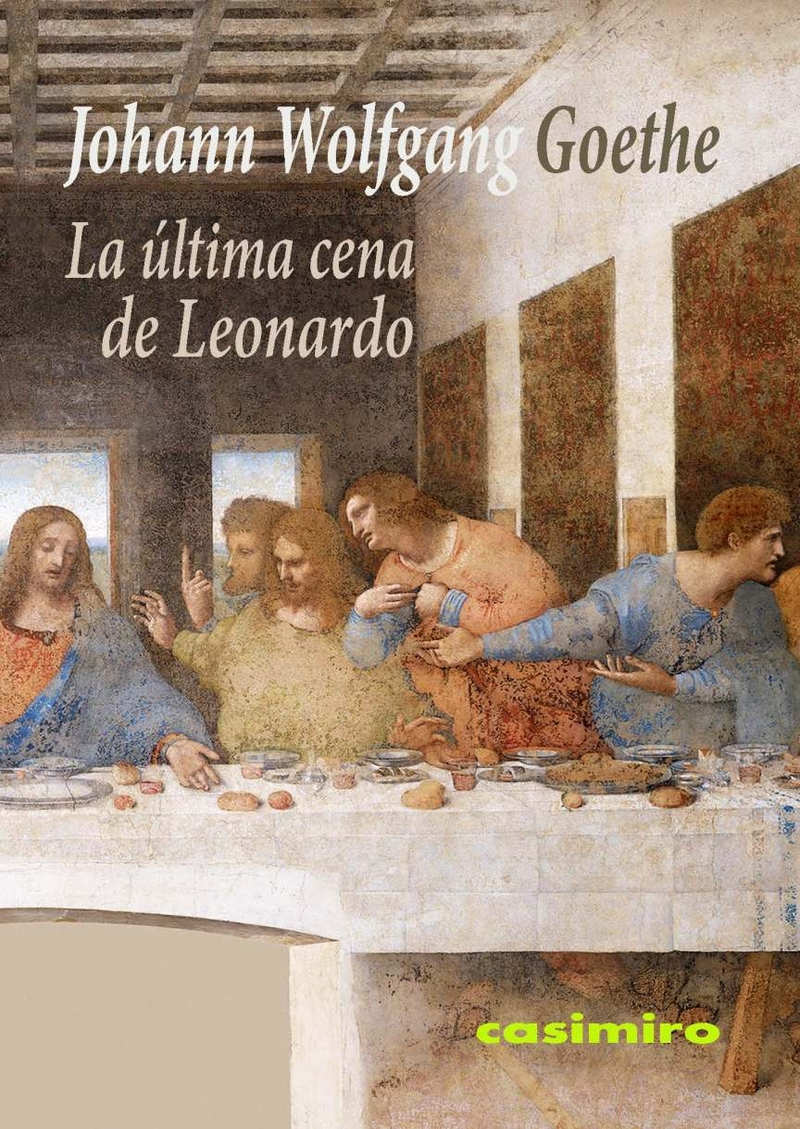 La última cena de Leonardo: portada