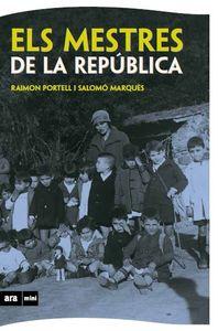 MESTRES DE LA REPÚBLICA, ELS (MINI): portada