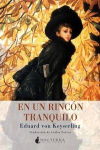 RINCON TRANQUILO,EN UN: portada