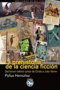 LA PREHISTORIA DE LA CIENCIA FICCIóN: portada