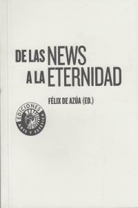 DE LAS NEWS A LA ETERNIDAD: portada