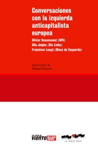Conversaciones con la izquierda anticapitalista europea: portada