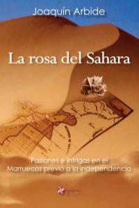 La rosa del Sahara: portada