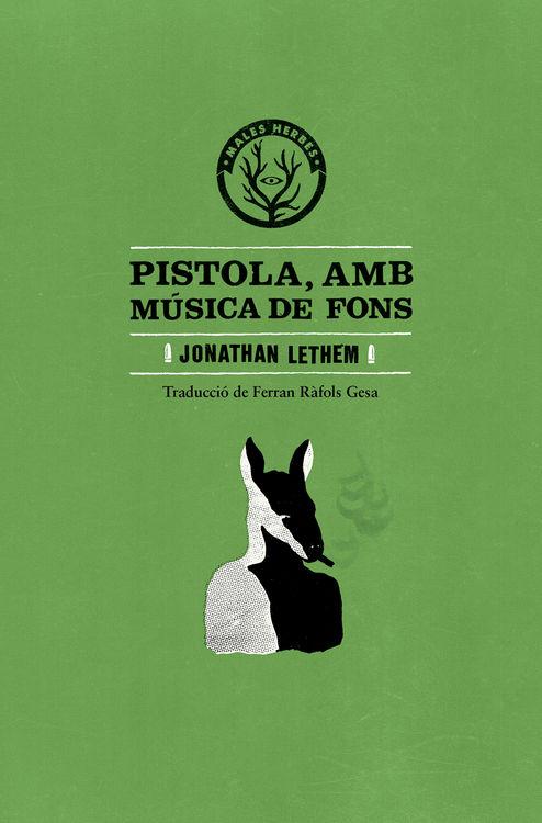 Pistola, amb música de fons: portada