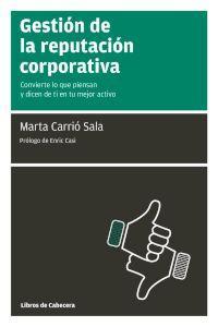 Gestión de la reputación corporativa: portada