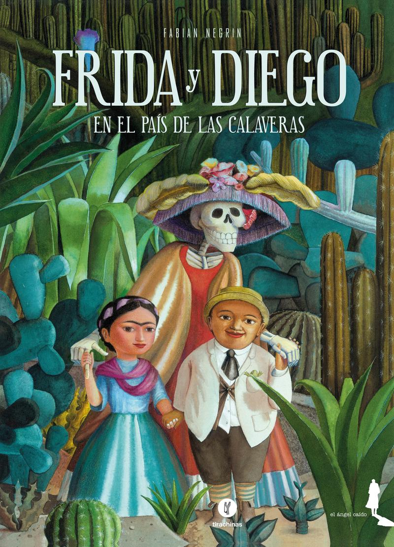 Frida y Diego en el País de las Calaveras: portada