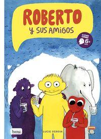 ROBERTO Y SUS AMIGOS: portada