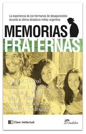 Memorias fraternas: portada