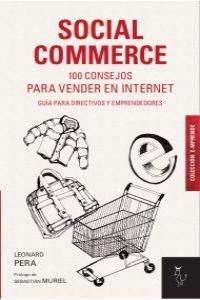 SOCIAL COMMERCE: 100 CONSEJOS PARA VENDER EN INTERNET: portada