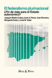 El federalismo plurinacional: portada