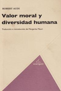 VALOR MORAL Y DIVERSIDAD HUMANA: portada