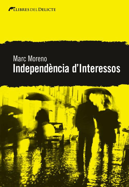 INDEPENDENCIA D'INTERESSOS - CAT: portada