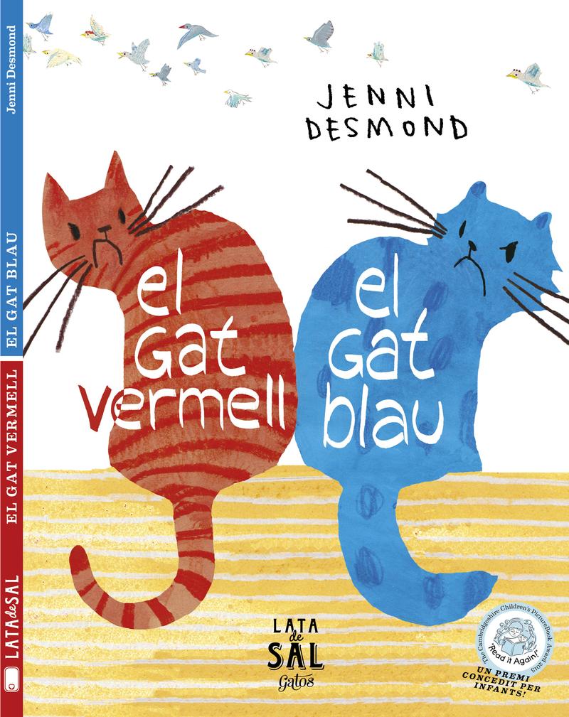 EL GAT VERMELL, EL GAT BLAU: portada