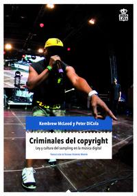 Criminales del copyright: portada
