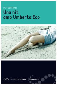 Una nit amb Umberto Eco: portada