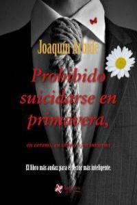 Prohibido suicidarse en primavera: portada